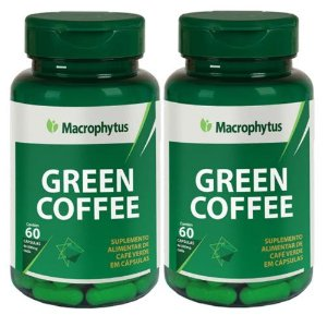 Kit Green Coffee (café Verde) 500mg 60 Cápsulas 2 Unidade