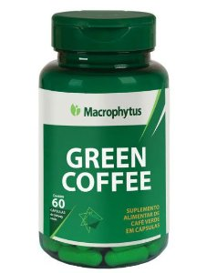Green Coffee (Café Verde) 500mg com 60cps - Macrophytus