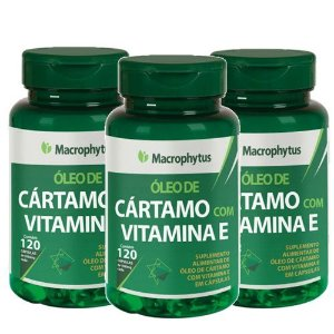Kit Cártamo C/Vitamina E 1000mg  60 Cápsulas 3 Unidades