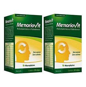 Kit Memoriovit - Polivitaminico  2x 30 Cápsulas Macrophytus