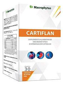 Cartiflan Colageno 475mg Tipo 2 com 30cps - Macrophytus