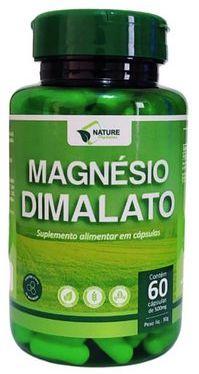 Magnésio Dimalato 60cps 500mg - Nature Orgânico VEGANO