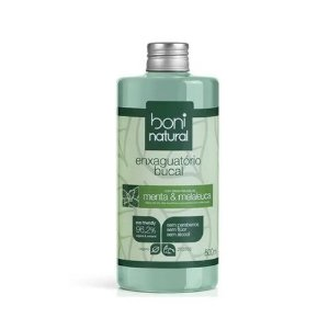 Enxaguante Bucal Boni Natural Menta E Melaleuca 500ml