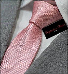 gravata rosa
