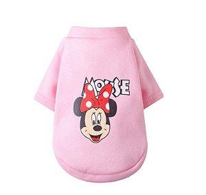 Camiseta Cachorro Pet Dog Cão Cães Gato Camisa Roupa Rosa