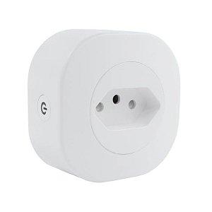Tomada Adaptador Inteligente Wifi Universal Comando Voz