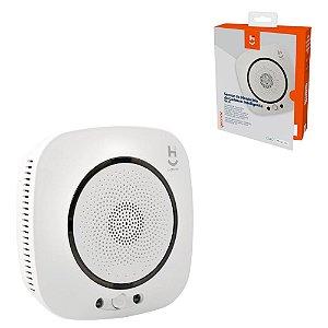 Sensor Monóxido Carbono CO Inteligente Wi-Fi App Comando Voz