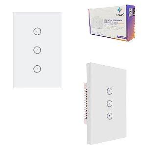 Interruptor Parede Touch com Wifi 3 Botões Alexa Google