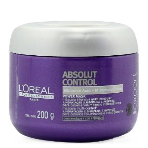 ABSOLUT CONTROL MASCARA 200ML LOREAL