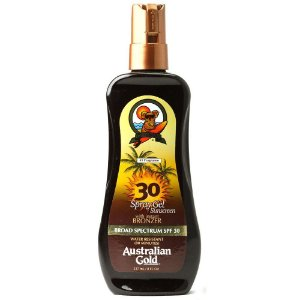 FPS 30 INSTANT BRONZER SPRAY GEL 237ML - AUSTRALIAN GOLD