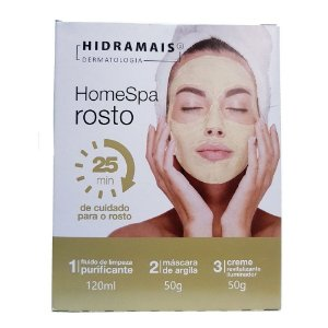 HOME SPA ROSTO KIT - HIDRAMAIS