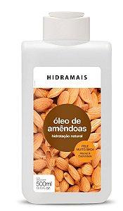 LOÇÃO HIDRATANTE OLEO DE AMENDOAS 500ML - HIDRAMAIS