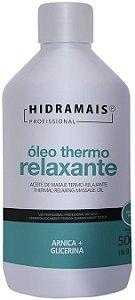 ÓLEO PARA MASSAGEM THERMO RELAXANTE 500ML - HIDRAMAIS