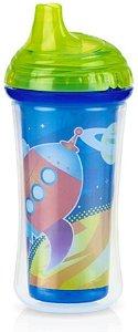 Copo Térmico com Bico Rígido, Azul Pop,  9 meses+ - Nûby