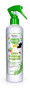 Spray Limpa Frutinhas e Vegetais para Bebê, 300ml BioClub