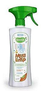 Multilimp Limpeza de Superfícies 500ml Bioclub
