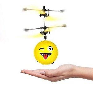 Brinquedo Infantil Helicoptero Mini Smile Sensor, Artbrink