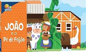 Livro João e o Pé de Feijão com Abas! Editora Todolivro