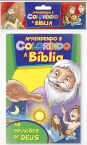 Livro Colorindo a Bíblia, Kit 10 unidades! Editora Todolivro