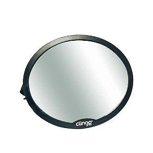 Espelho Oval Retrovisor para Carros Round, Clingo