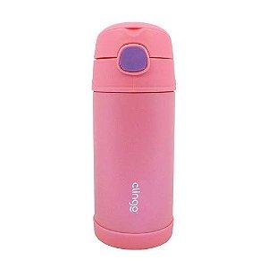 Garrafa Térmica cor de Rosa, Clingo