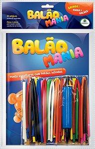 Livro Balão Mania com Bexigas Eco Kit, Todolivro