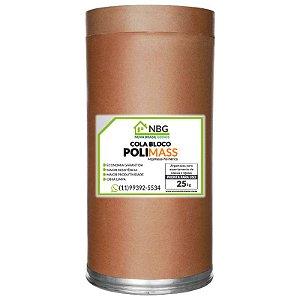 Argamassa Polimérica POLIMASS 25kg + 1 Aplicador