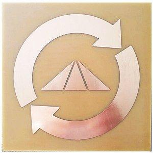 Placa Prosperador de Bolso - Gráfico em Cobre