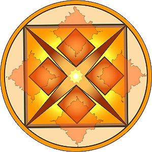 Adesivo Parede Mandala Dinheiro 15 cm