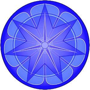 Adesivo Parede Mandala da Prosperidade 15 cm