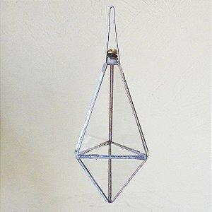 Prisma de água modelo balão com juntas metálicas