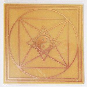 Placa Pirâmide de Tao G – Gráfico em Cobre