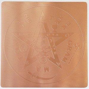 Placa Tetragrammaton - Cobre Maciço