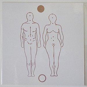 Placa Radiônica Figura Humana - Em PVC