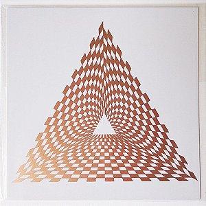 Placa Radiônica Gerador de Energia Pirâmide - Em PVC