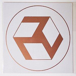Placa Radiônica Antacarana - Em PVC