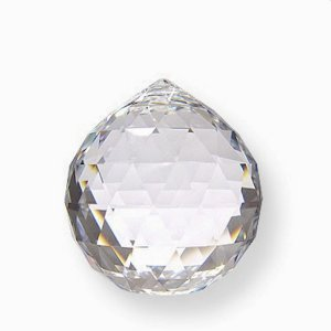 Cristal facetado Feng Shui Egípcio 20mm