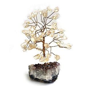 Árvore de Pedras Quartzo Cristal