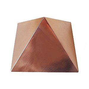 Pirâmide de Cobre Polida 15 cm