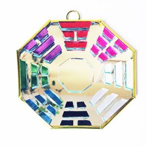 Baguá Espelhado Colorido