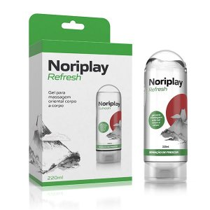 GEL PARA MASSAGEM NORIPLAY REFRESH 220ML