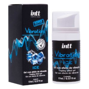 GEL VIBRATÓRIO VIBRATION ICE INTT 17ML (ESFRIA, VIBRA E PULSA)