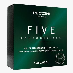 GEL EXITANTE FIVE APHRODISIACS PESSINI 15G