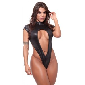 BODY SENSUAL EM CIRRE MADAME X - DOMINATRIXX (VESTE DO P AO G)