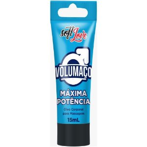 VOLUMAÇO MÁXIMA POTÊNCIA GEL INTENSIFICADOR MACHO 15ML SOFT LOVE