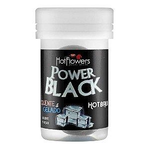 BOLINHA EXPLOSIVA QUENTE E GELADO POWER BLACK HOT FLOWERS 2 UN