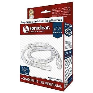 Traqueia de Inaladores e Nebulizadores PVC Soniclear Atóxica