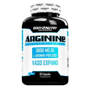 Arginine Body Nutry 60 cápsulas