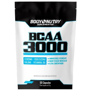 BCAA 3000 Body Nutry refil 50 cápsulas