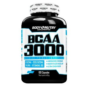BCAA 3000 Body Nutry 100 cápsulas